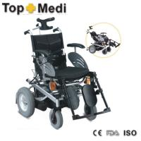 Powder coating steel Electric Mobility Wheelchair for old people or disabled people Manufactures