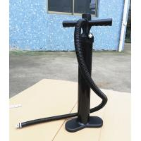 2.0 Bar Stand Up Paddle Accessories High Pressure Hand Air Pump Black Color Manufactures