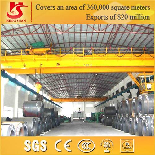 Quality 2015 new QD double girder overhead Crane heavy duty crane equipment for sale