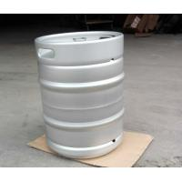 Buy cheap 50L Europe beer keg , stackable , with logo embossing on handle, EPDM rubber from wholesalers
