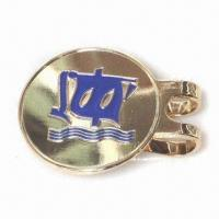 Golf Hat Clip, Suitable for Promotional Gift Projects or Mass Retail, Made of Brass  Manufactures