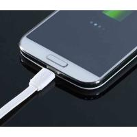 China 1M Micro Samsung Cell Phone USB Cable White With Sync Data For Charging on sale