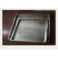 Perforated Baking Stainless Steel Wire Mesh Cable Tray Rectangular Shape Used In Oven Manufactures