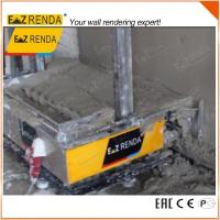 Automatic Stable Rendering Machine , Cement Sprayer Machine Rendering Height Up To 3.5M Manufactures