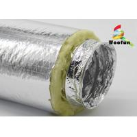 Air Ventilation System Insulated Flexible Ducting Aluminum Foil Multi - Function Manufactures