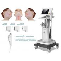 Vertical Stationary HIFU Beauty Machine For Face Lifting / Wrinkle Removal Manufactures