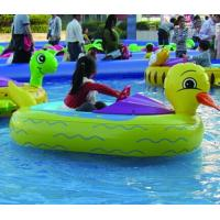 China EN71 Children Water Games Motorized Inflatable Bumper Boat With Battery on sale