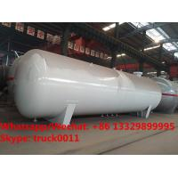 2019s customized high quality 55,000Liters bullet stationary surface propane gas storage tank for sale, lpg gas tank Manufactures
