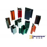 Colorful Casement Aluminum Door Profile OEM Modern Design High Reliability Manufactures