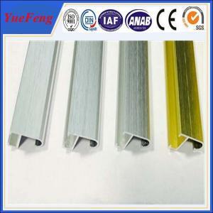 hairline brush finish aluminium picture photo frame, aluminum extrusion frame design Manufactures