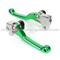 CNC Billet Motorcycle Brake Clutch Lever For KX 85 100 125 250 KX 250F 450F MX Parts Manufactures