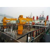 China Hydraulic 30t Marine deck crane  with ABS Class and advanced components on sale