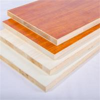 China Melamine Faced 18mm Laminated Block Board For Furniture And Decoration on sale