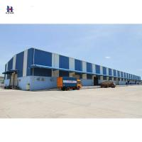China Q235  light steel structural design factory steel structure warehouse producer on sale