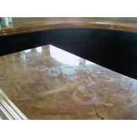China Natural Stone Marble Bathroom Countertops on sale