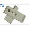 Rectangle Rotating USB 3.1 USB-C Dual Usb Port Usb 3.0 Flash Memory for sale