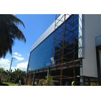 Multi Floor Steel Structure Office Building With Glass Curtain Wall Manufactures