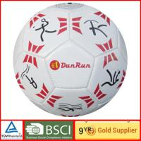 China Machine stitched girls boy PVC Soccer Ball for match children play games on sale
