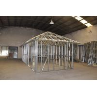 China Prefab Disaster Light Steel Frame Houses , Light Weight Steel Framed Homes on sale