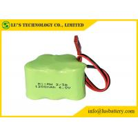 6V battery NIMH Battery Pack Nickel Metal Hydride Battery 1.2V Size 2/3A 1200mah Manufactures