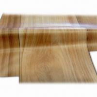 PVC Wooden Film with Thickness Ranging from 0.10 to 1.0mm, Made of PVC Material Manufactures