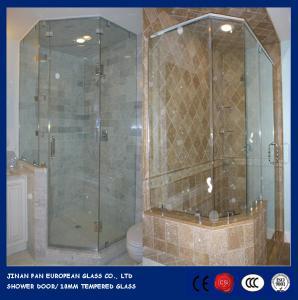 Glass shower door&enclosure, glass door, customized, 3C/CE certificate, glass price M2 Manufactures