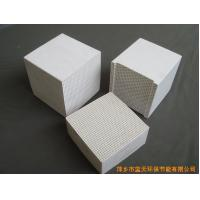 China Ceramic Plate Honeycomb Furnace Refractory Bricks For Infrared Catalytic Gas Burner on sale