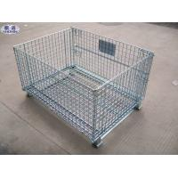 China Warehouse Wire Mesh Container For Express on sale