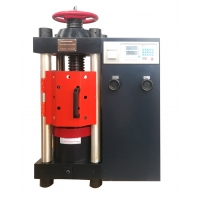 China Hollow Material Digital 2000kN Concrete Compression Testing Machine on sale