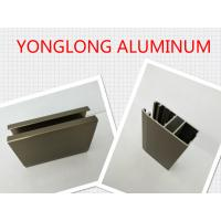 Electrophoresis Matte Or Flat Bronze Aluminum Window Profiles Length Shape Customized Manufactures