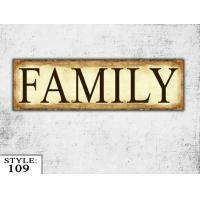 Wooden Family Sign Family Gift Living Room sign Wood wall hanging Sign Home Decor Manufactures