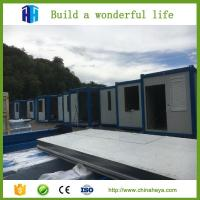 China prefabricated steel structure building houses prefab camp house india on sale