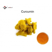 Yellow Antiplatelet 95% Curcumin Extract Powder Manufactures