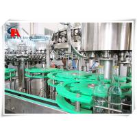 Multifunctional Automatic Liquid Filling Machine 3 In 1 Full Open Protection Structure Manufactures