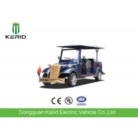 CE Approved Tourist Electric Vintage Cars , Electric Convertible Car with Eight Seats Manufactures