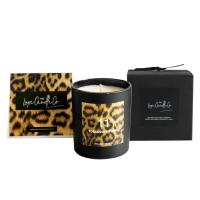 100% Natural Organic Handmade Jar Candles Scented Soy Wax Candle Leopard Printing Manufactures