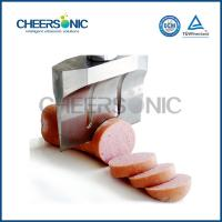 China OEM Ultrasonic Meat Slicing Machine For Fresh / Frozen Meat 20KHZ on sale