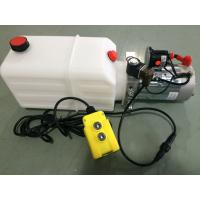 Quality mini Hydraulic Power Packs 12V DC 1.6kw with 8L plastic tank max pressure 210bar for sale
