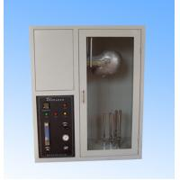 EN137 Fire Testing Equipment , Mask Flame Resistance Flammability Test Chamber Manufactures