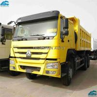 China 8300x2560x3450mm Dump Truck Tipper , Industrial Dump Truck With One Bed Cabin on sale