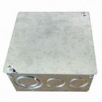 Square Power Distribution Box, Made of Galvanized Steel Sheet Manufactures