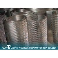 Quality 2.5 m Expanded Titanium Wire Mesh With Titanium Plate For Filter Elements for sale