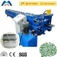 3 Tons Shutters Door Frame Roll Forming Machine 180mm Width With PLC Control Manufactures