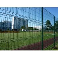 Galvanized Welded Wire Mesh Sheets , Green Welded Wire Fence Multi Purpose Manufactures