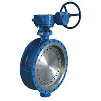 Metal-seal Flanged Butterfly Valve Manufactures