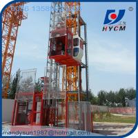 1ton Single Cage Construction Hoist with 3 Phase Motor for High Building Manufactures