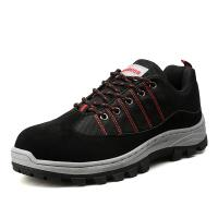 Non Slip Mens Safety Sneakers Ventilating Shoes Insole Comfort Foot Environment Manufactures