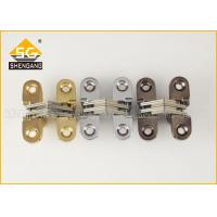 Adjustable Invisible Small Cupboard Hinges For Wooden Box Itatly Type Manufactures