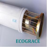 Mild / Stainless Steel Filter Bag Cage With 12 / 16 Wires , Silicon Coating Manufactures