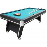 China Fashionable 84 Inch Pool Table , Billiards Game Table With Solid Wood Cue wholesale